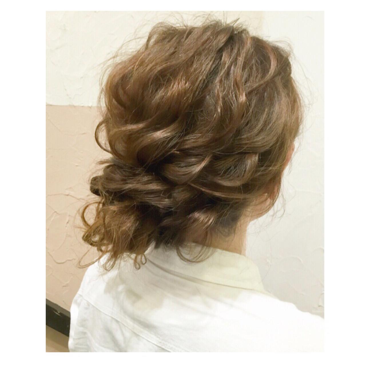 大人かわいい ミディアム 波ウェーブ ゆるふわ ヘアスタイルや髪型の写真・画像   kayo / hair salon fift