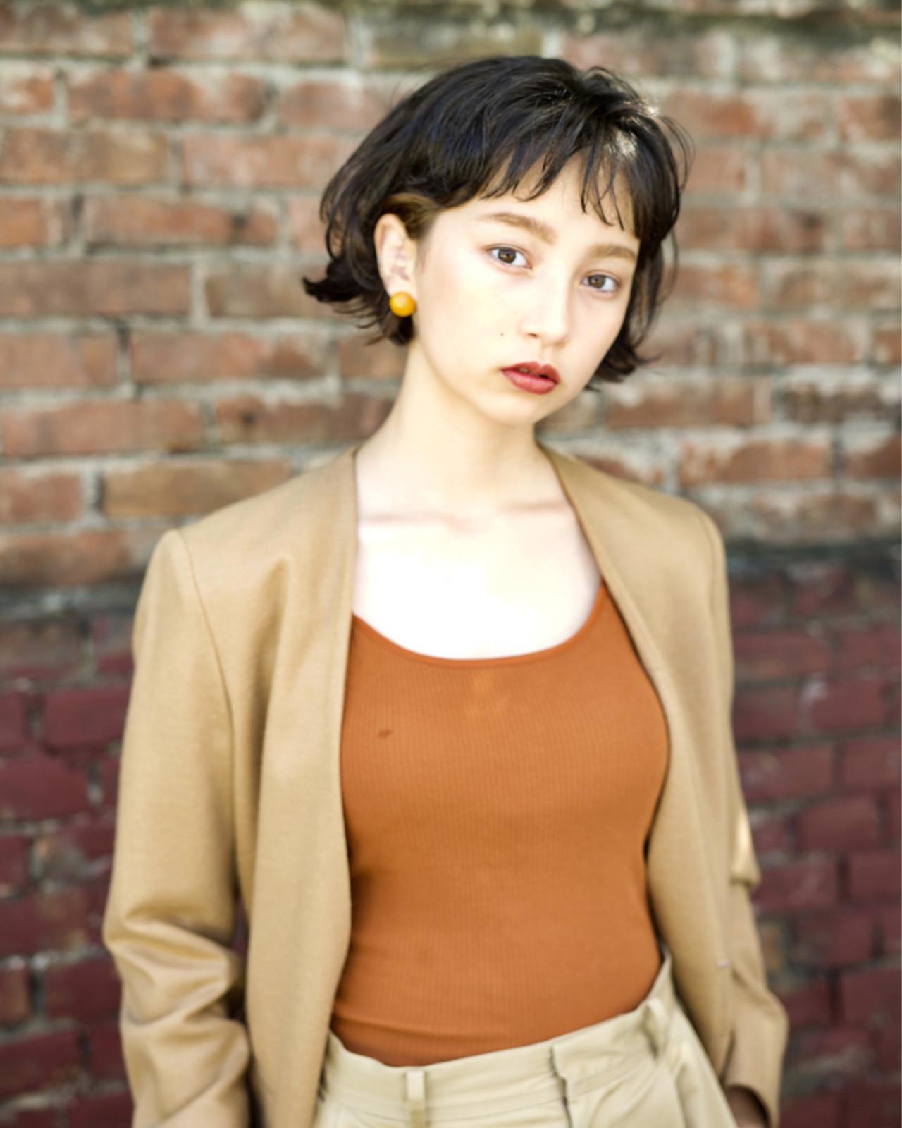 パーマ マッシュ 外国人風 ナチュラル ヘアスタイルや髪型の写真・画像 | 佐脇 正徳 / LOAVE AOYAMA(ローヴ アオヤマ)