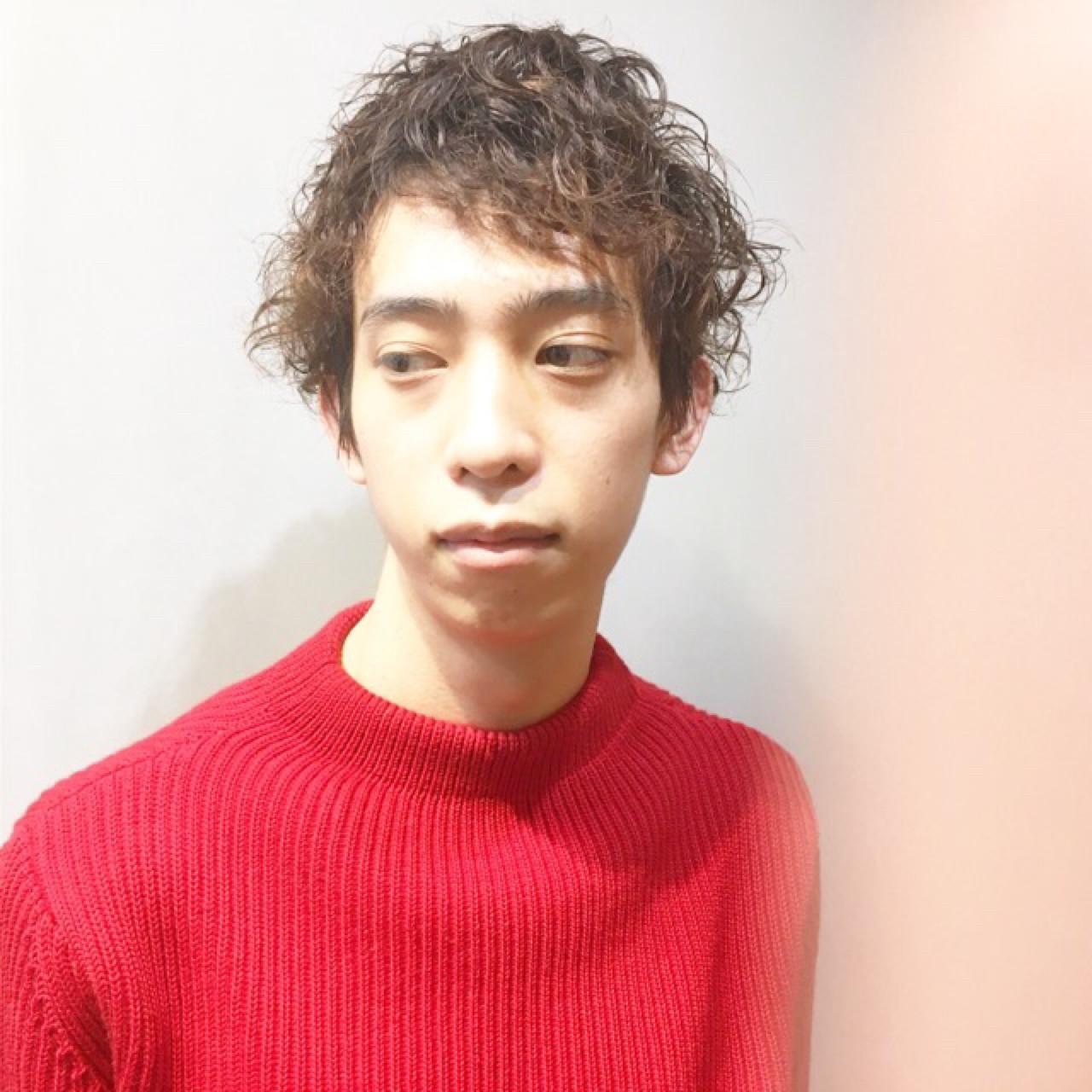 外ハネ こなれ感 ナチュラル ワイドバング ヘアスタイルや髪型の写真・画像 | COM PASS 太一 / COM PASS