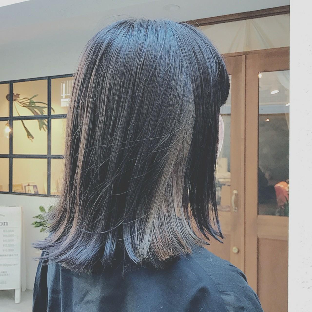 ボブ オフィス ナチュラル 大人かわいい ヘアスタイルや髪型の写真・画像 | 浦川由起江 / nanon