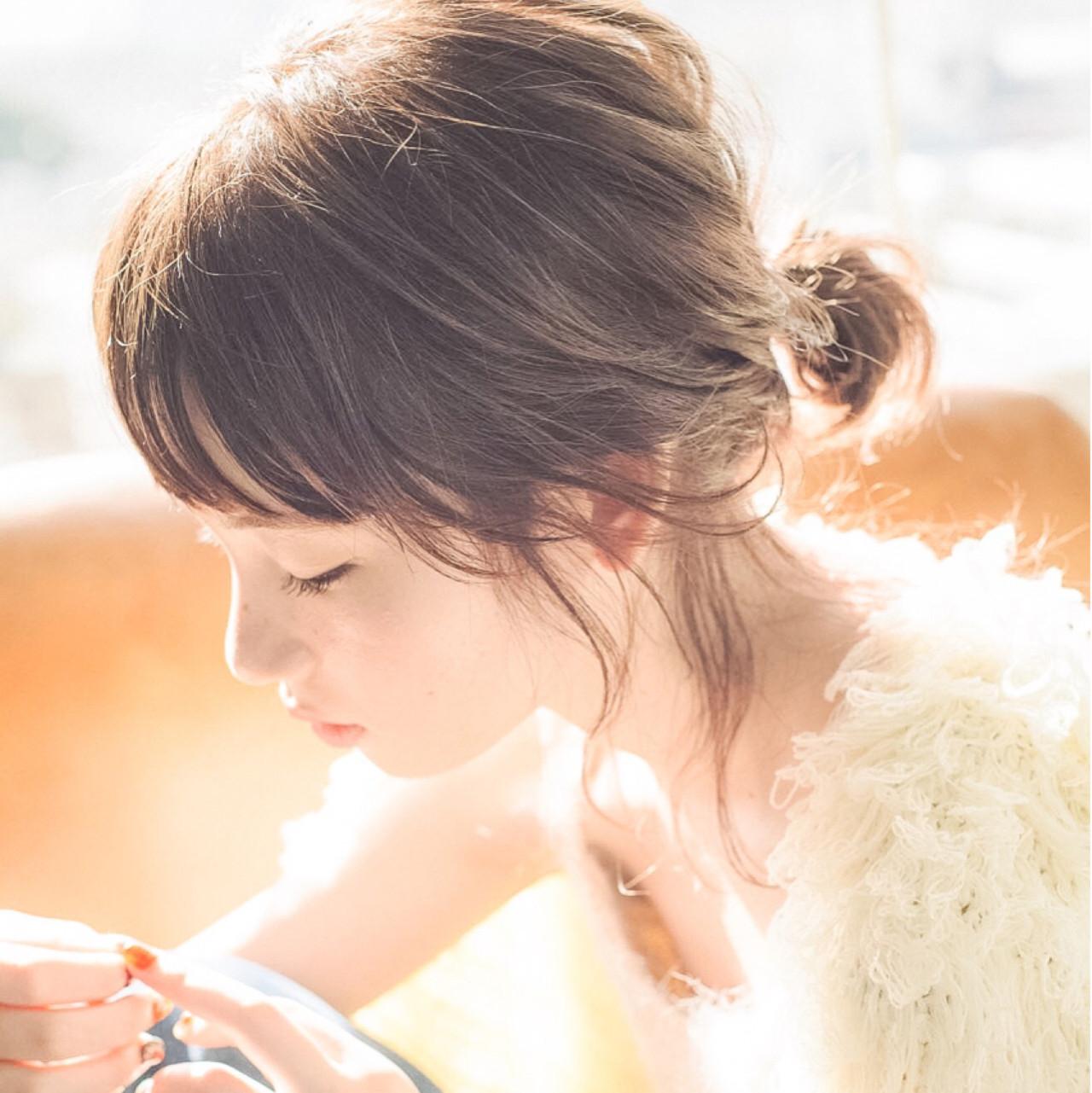 色気 小顔 ニュアンス こなれ感 ヘアスタイルや髪型の写真・画像 | スガ シュンスケ / Tierra (ティエラ)