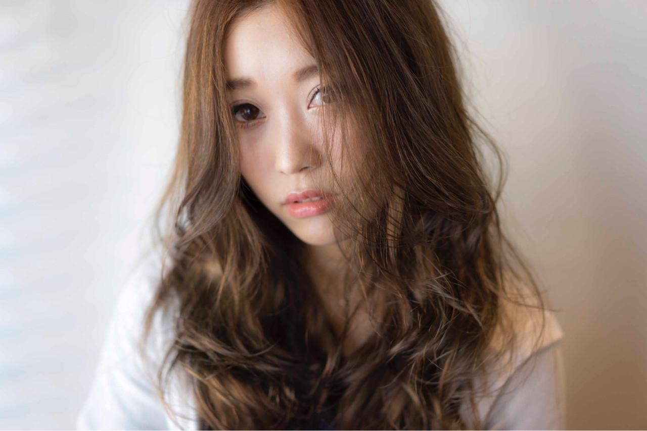 外国人風 ハイライト アッシュ ストリート ヘアスタイルや髪型の写真・画像 | 山口純一郎 / hair design Sola