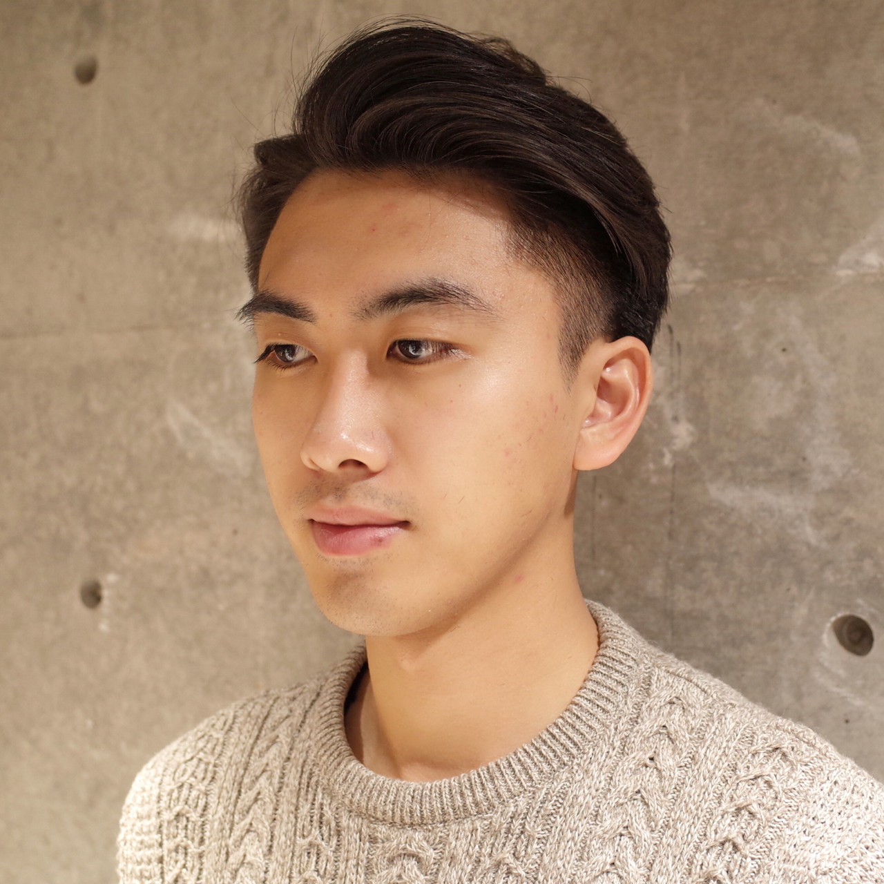 メンズ 刈り上げ ショート ツーブロックヘアスタイルや髪型の写真・画像