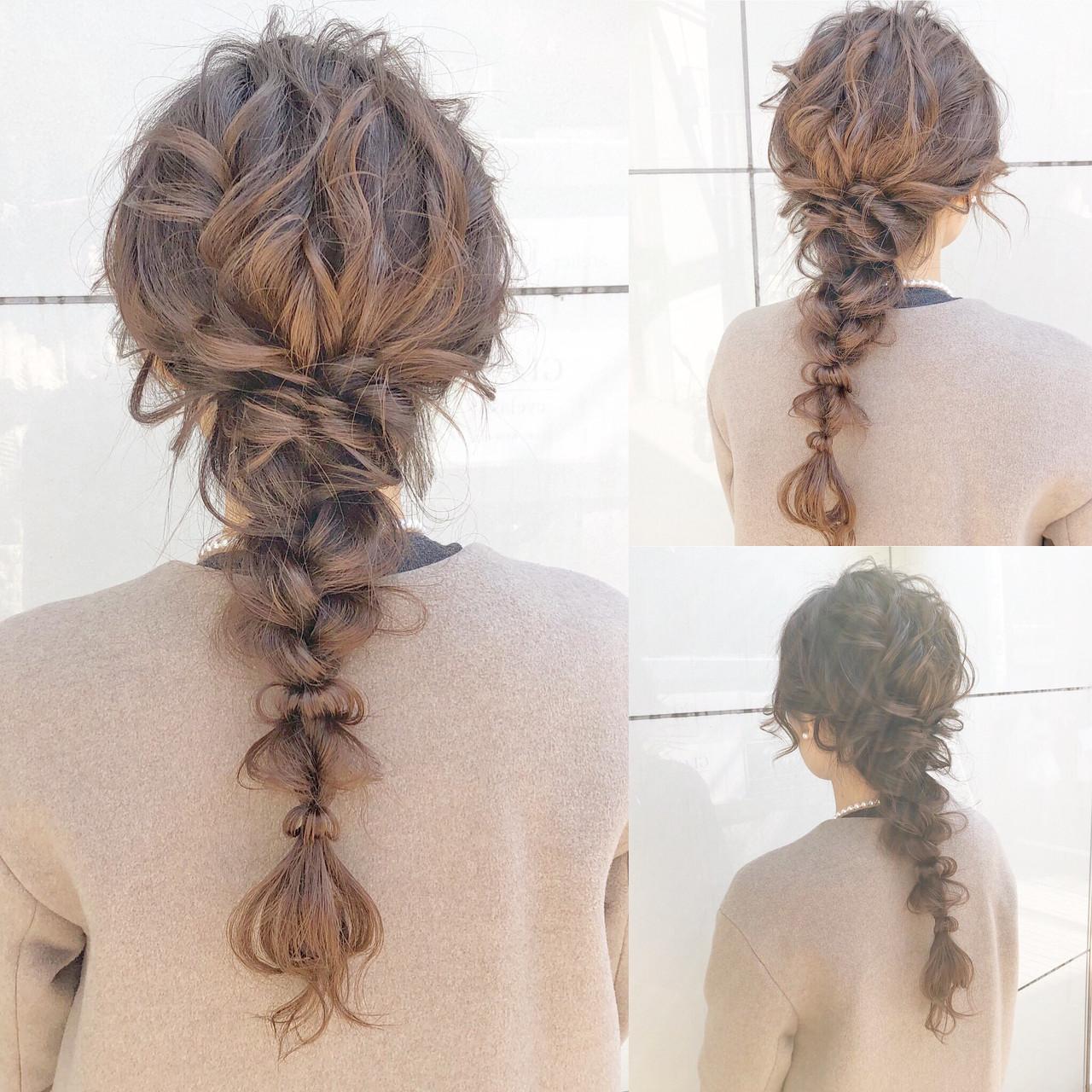 結婚式 ヘアアレンジ フェミニン ロング ヘアスタイルや髪型の写真・画像 | 『ボブ美容師』永田邦彦 表参道 / send by HAIR