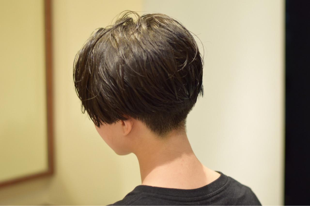 モード 大人女子 ジェンダーレス ショート ヘアスタイルや髪型の写真・画像 | 松村卓人 / OWL hair