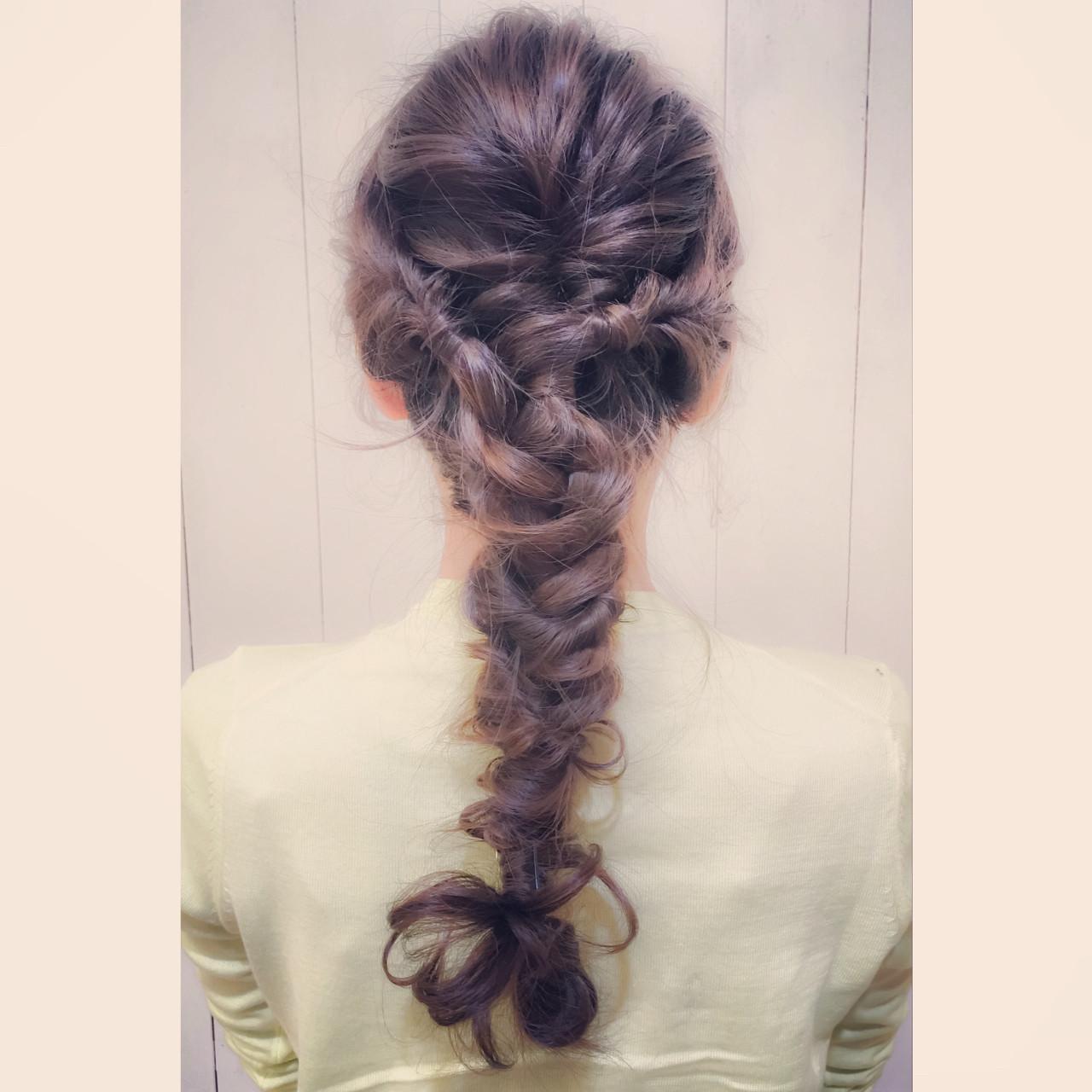 ショート 大人かわいい ヘアアレンジ ロング ヘアスタイルや髪型の写真・画像   井手口 倫也 / luve heart's And Be+Eclat