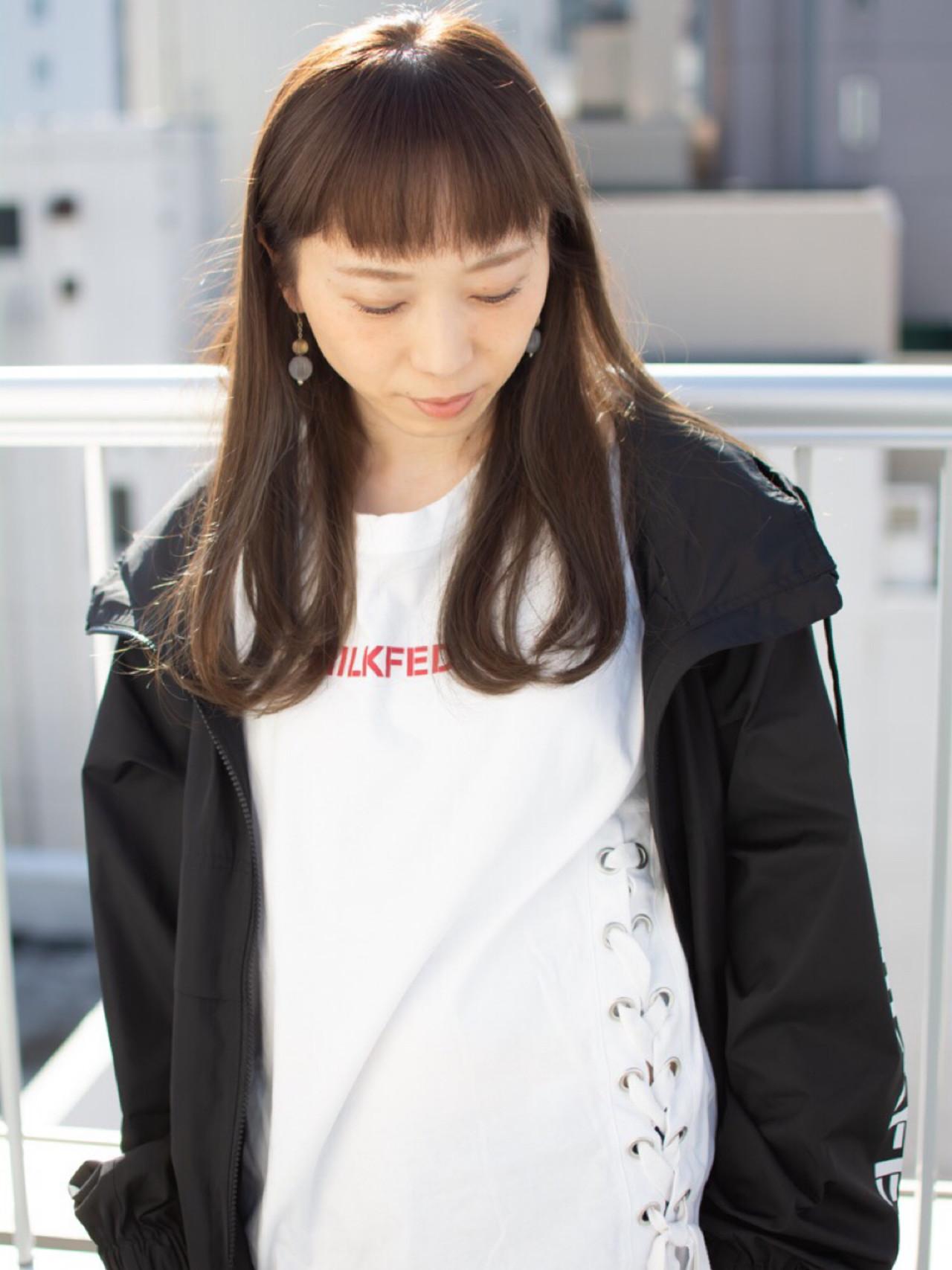 フェミニン エフォートレス 女子力 セミロング ヘアスタイルや髪型の写真・画像   【noine】斉藤 正敏 / noine