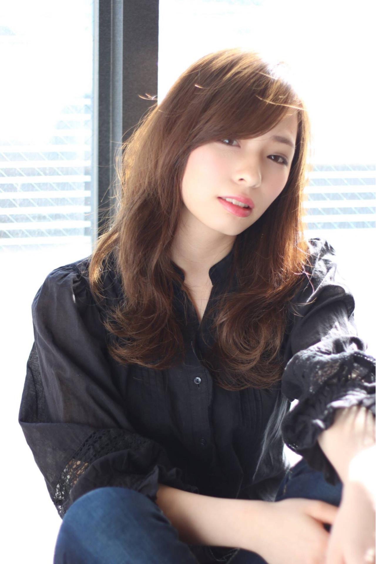 大人女子 ニュアンス ゆるふわ こなれ感 ヘアスタイルや髪型の写真・画像   大柳 浩輝 / 美容室CINQ