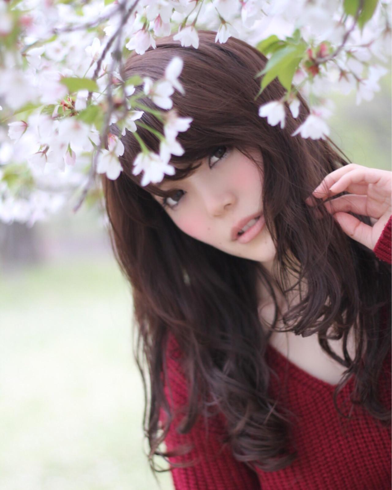 愛され ゆるふわ ナチュラル コンサバ ヘアスタイルや髪型の写真・画像 | 山田 あかり /
