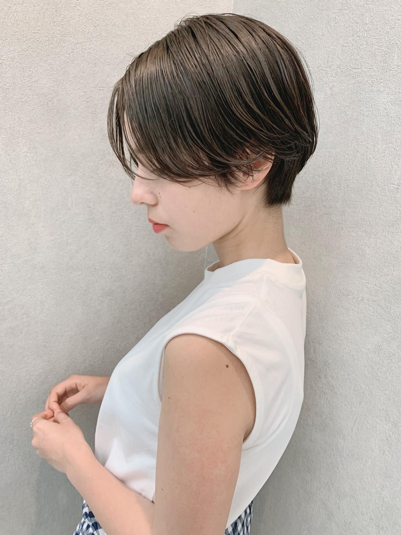 パーマ 黒髪 フェミニン 大人かわいい ヘアスタイルや髪型の写真・画像 | 石田浩之 / lano by hair