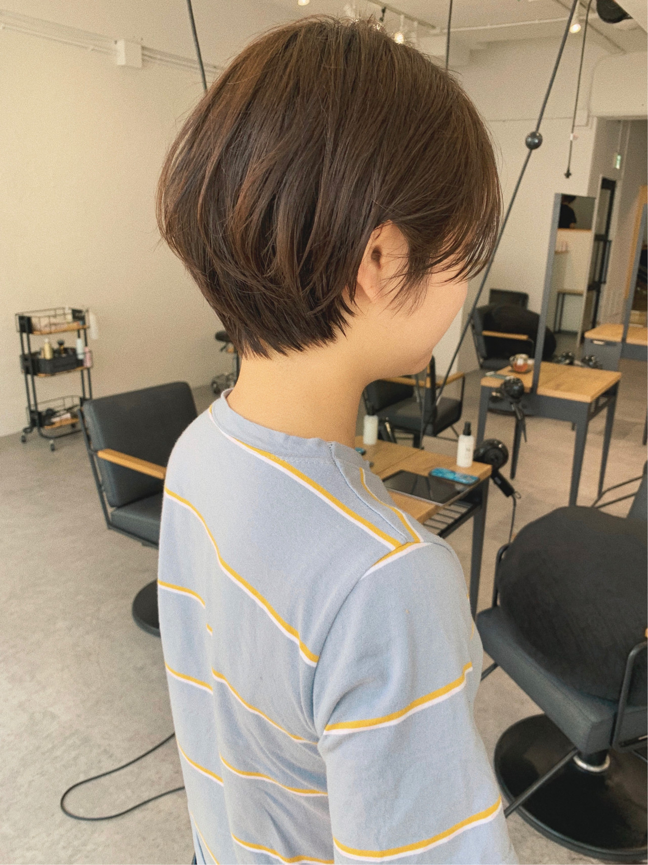 ナチュラル デート 黒髪 スポーツヘアスタイルや髪型の写真・画像