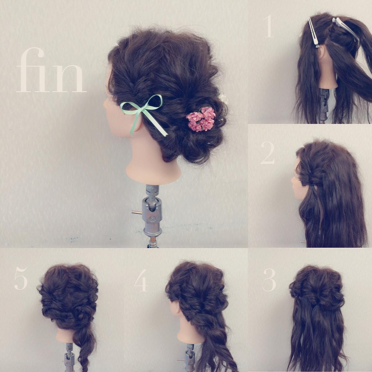 結婚式 二次会 ショート 簡単ヘアアレンジ ヘアスタイルや髪型の写真・画像   ヤマナカサトル / DIOR of Hair