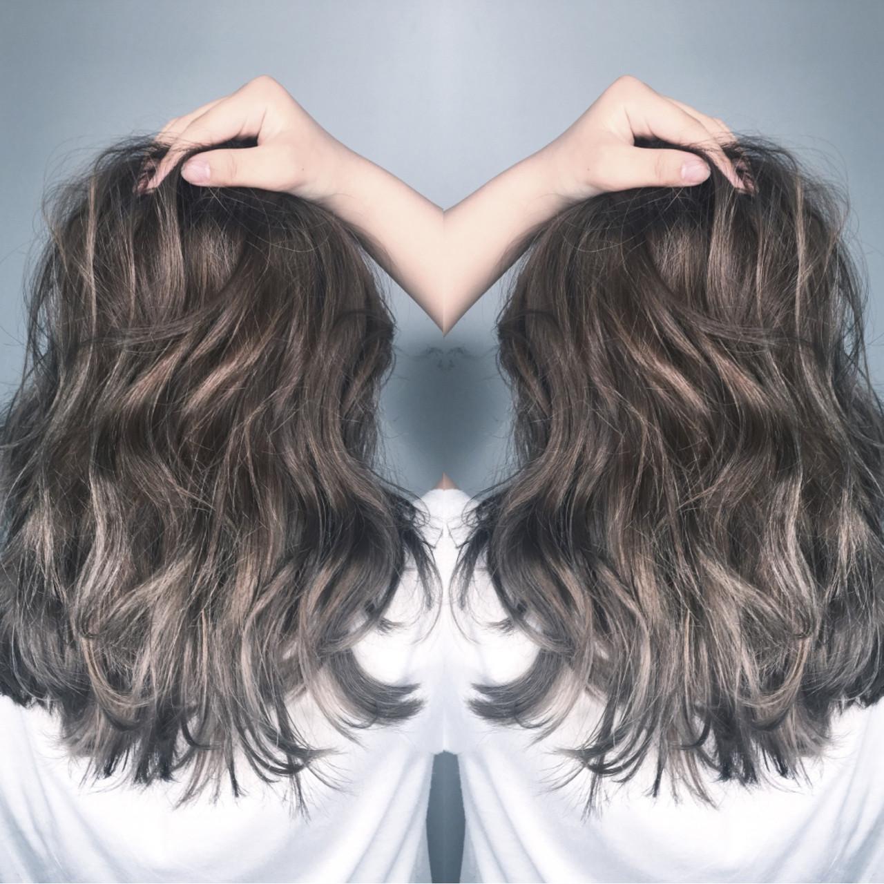 ストリート セミロング アウトドア 外国人風 ヘアスタイルや髪型の写真・画像   筒井 隆由 / Hair salon mode