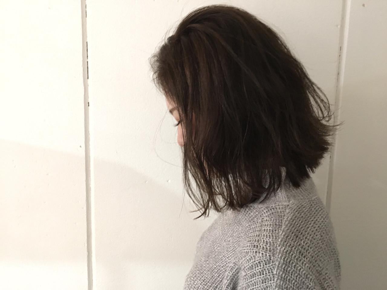 アッシュ ナチュラル 外ハネ 外国人風 ヘアスタイルや髪型の写真・画像 | 杉谷 将也 / DiLL / DiLL