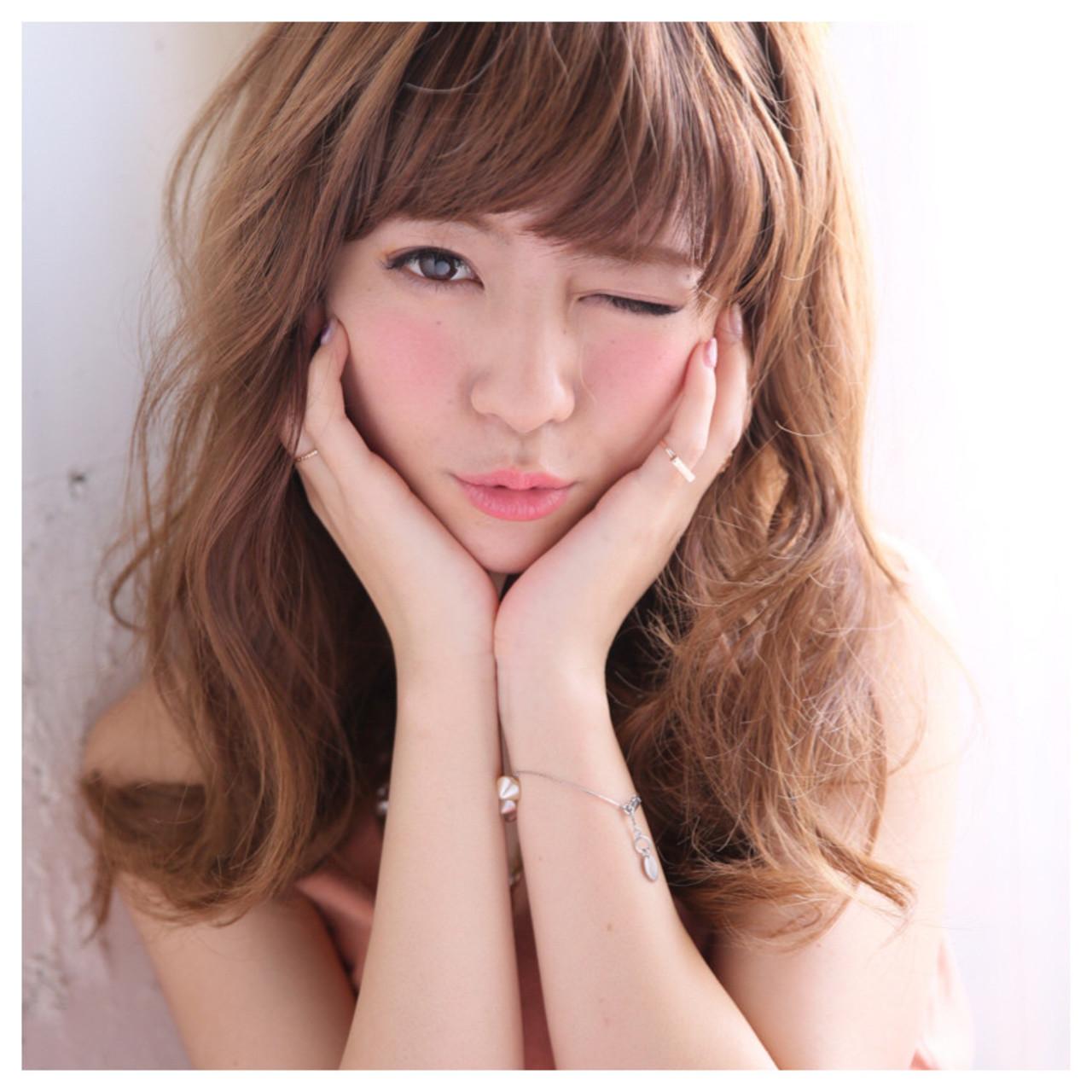 ガーリー 外国人風 フェミニン ゆるふわ ヘアスタイルや髪型の写真・画像 | enn 増田 大将 / HAIR&MAKE  enn