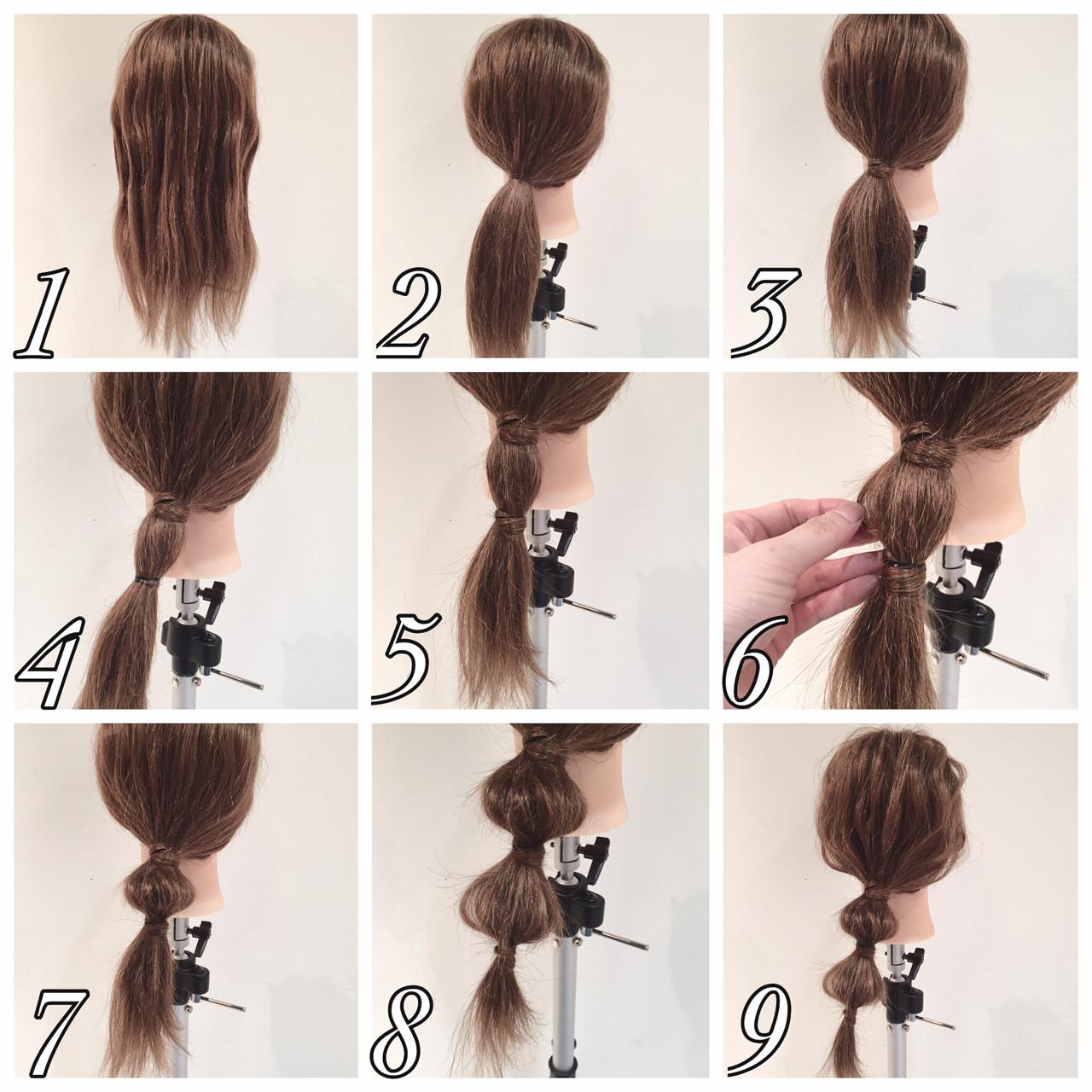 セミロング パーティ 大人かわいい 簡単ヘアアレンジ ヘアスタイルや髪型の写真・画像