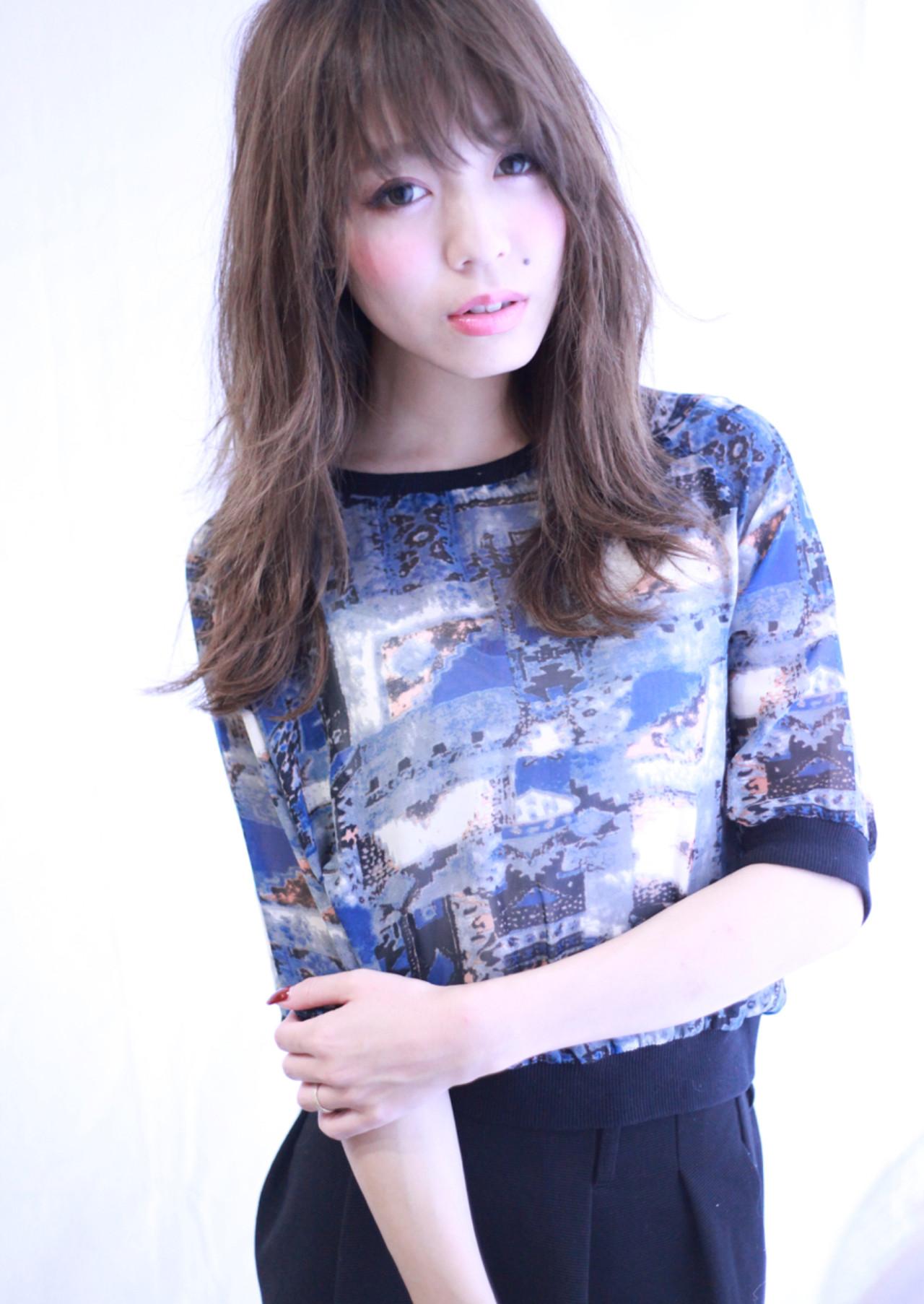 ゆるふわ ストリート 暗髪 外国人風 ヘアスタイルや髪型の写真・画像 | 藤城 吉晃 / glad NATURAL HAIR