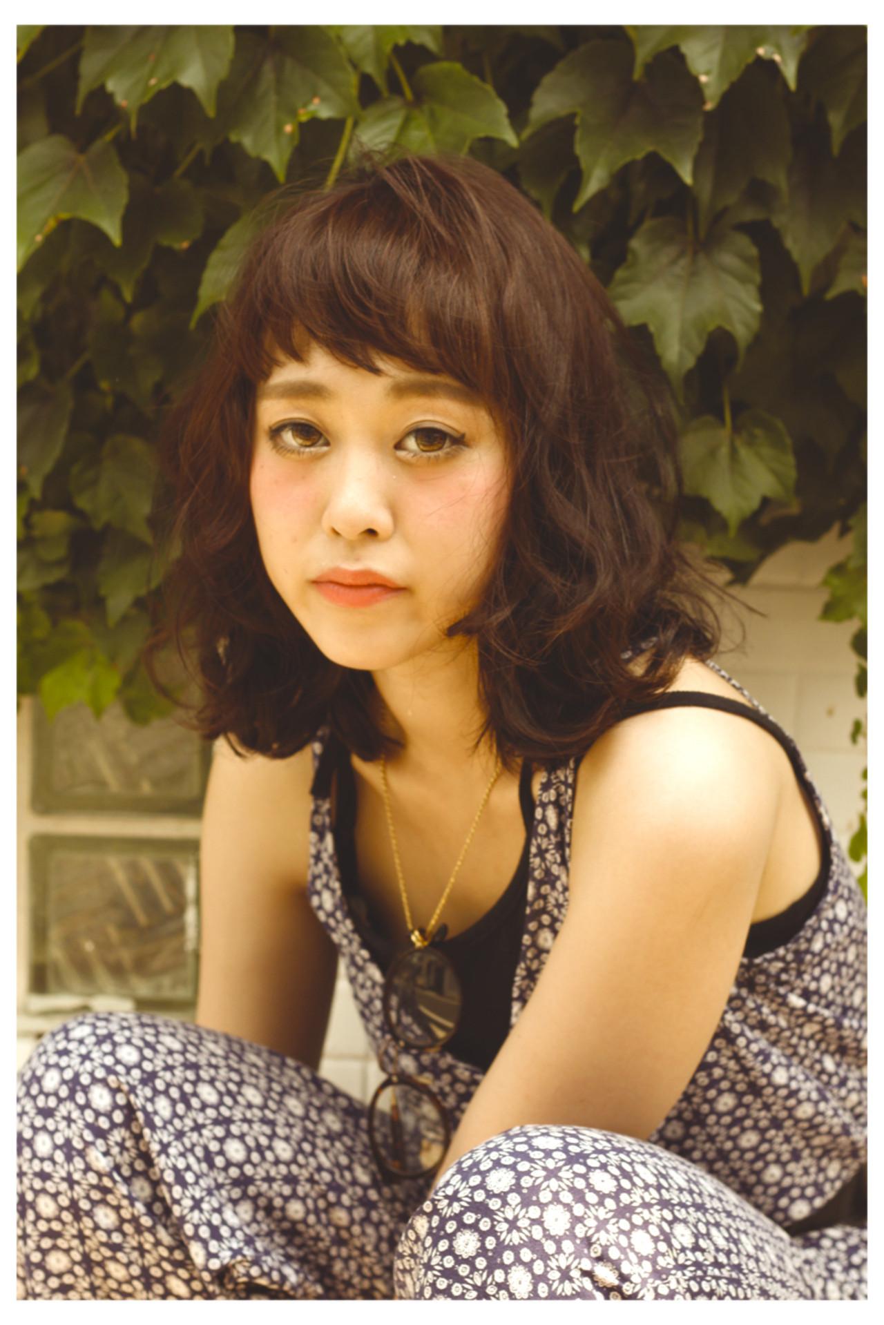 外国人風 くせ毛風 ストリート オン眉 ヘアスタイルや髪型の写真・画像 | 比田井 貴久 / blala
