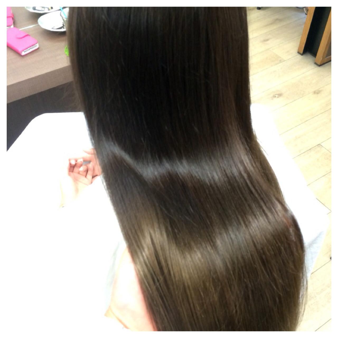 外国人風 グラデーションカラー アッシュ モード ヘアスタイルや髪型の写真・画像 | 西野綾希子 / hair Mission / hair Mission