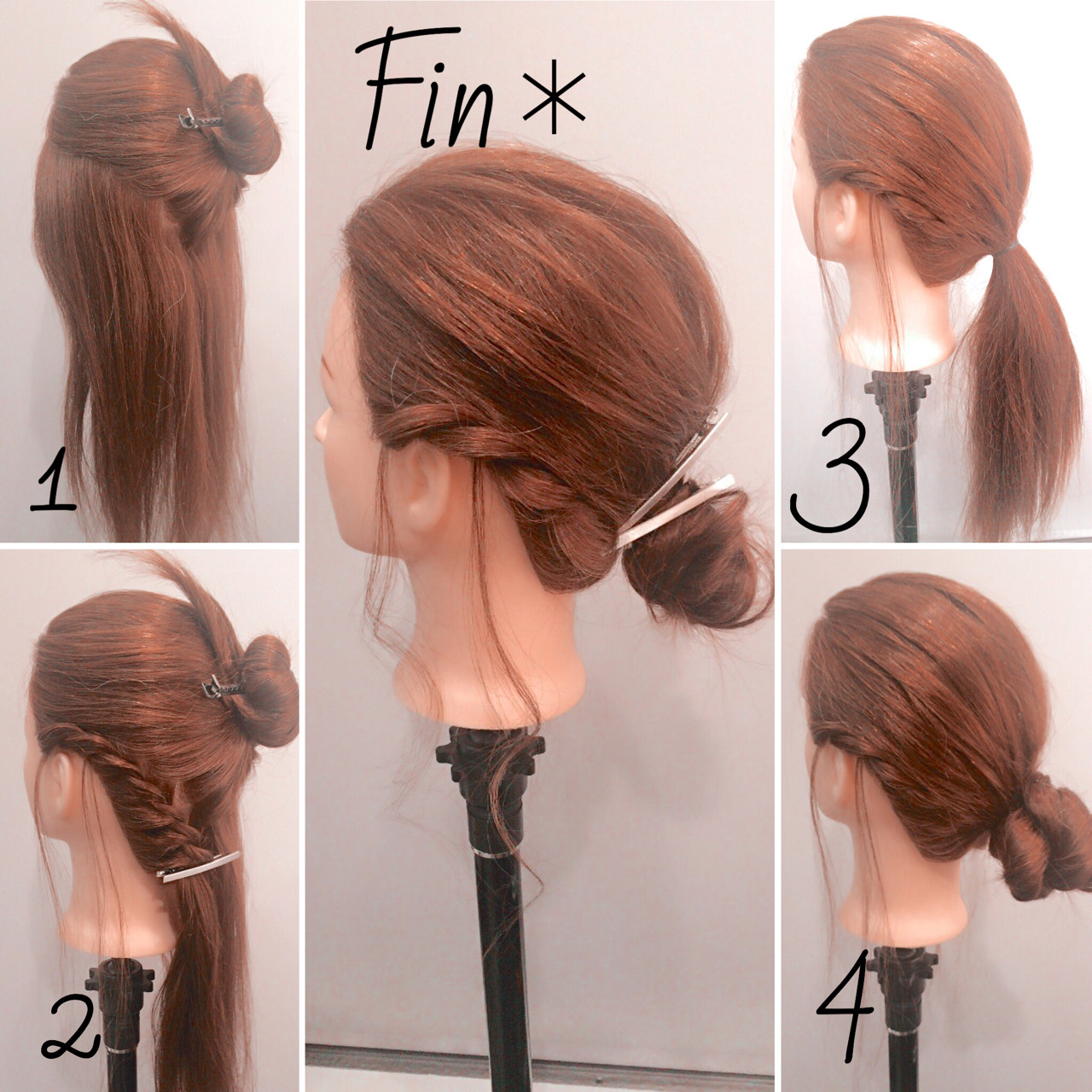 簡単ヘアアレンジ ヘアアレンジ 大人女子 ねじり ヘアスタイルや髪型の写真・画像 | 中村香奈子 / 匠forhair