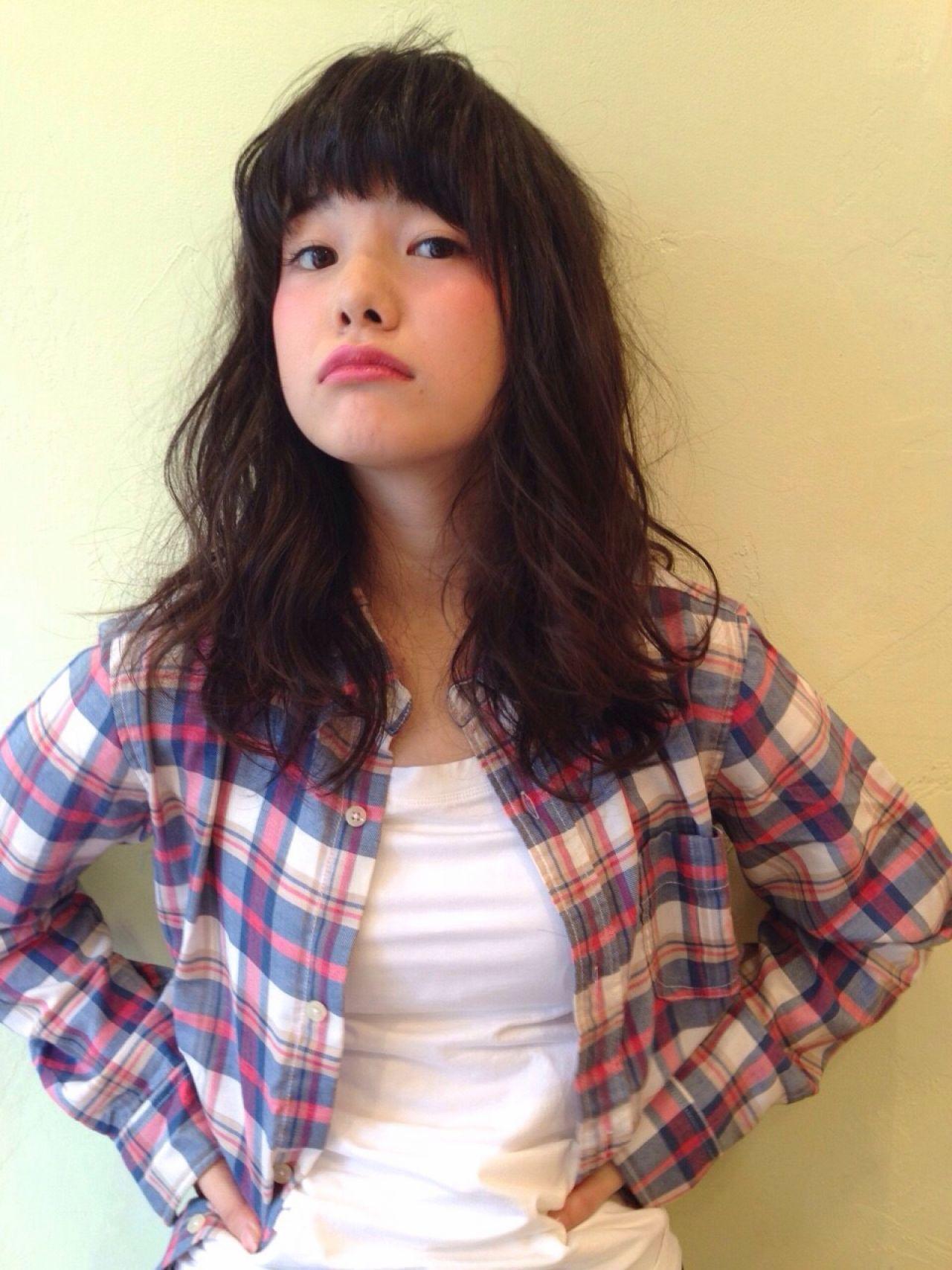 ストリート ウェットヘア セミロング ウェーブ ヘアスタイルや髪型の写真・画像 | 小関 勝行 / Lomalia