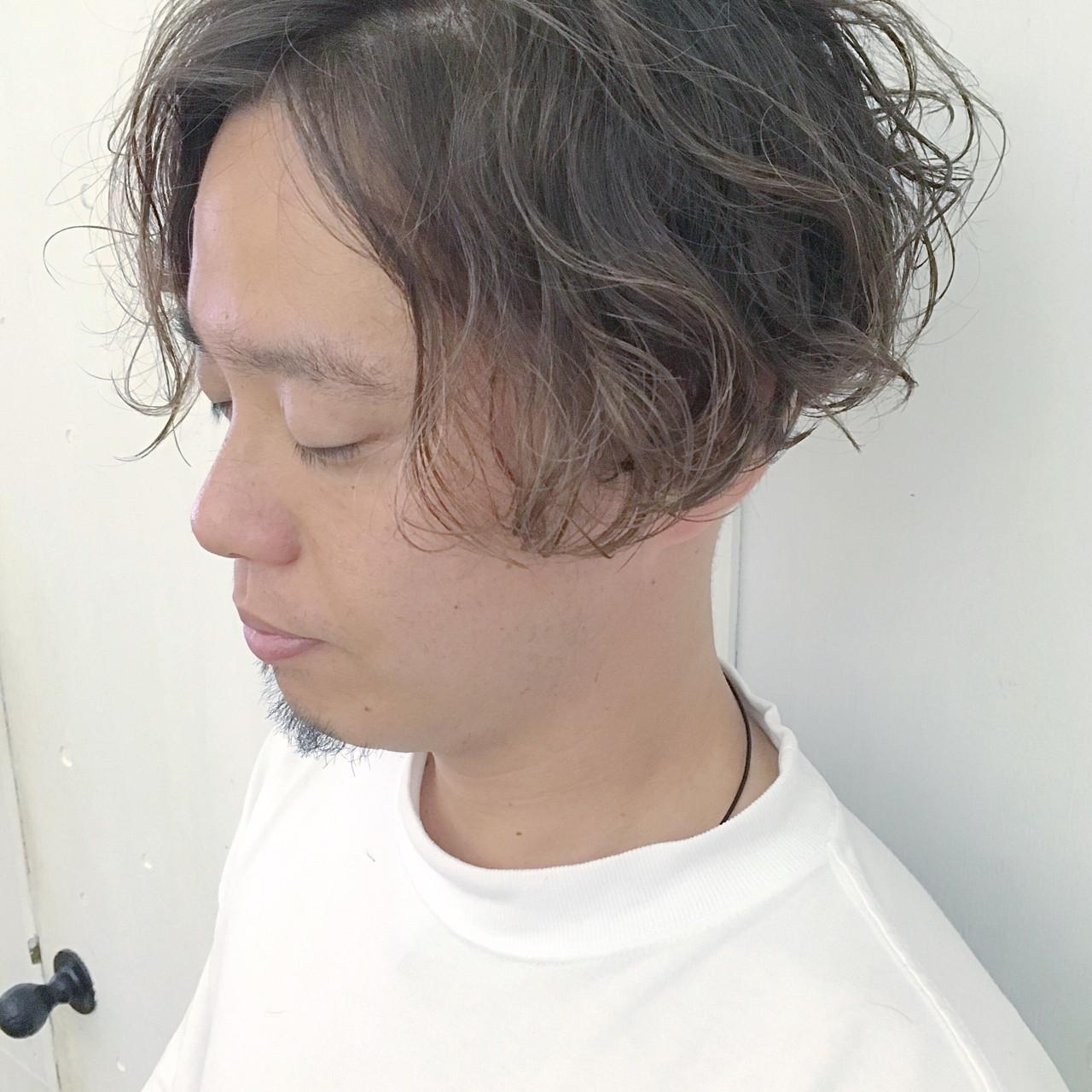 ボブ モテ髪 メンズ ボーイッシュヘアスタイルや髪型の写真・画像