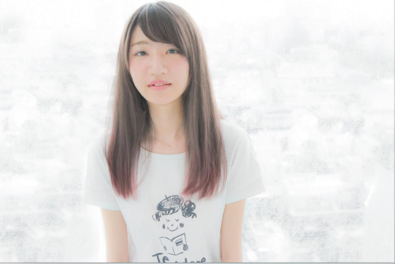 巻き髪ストレートヘア。オシャレに魅せたい、アンニュイスタイル。 田中 陽へい / 美容室HEYKEL