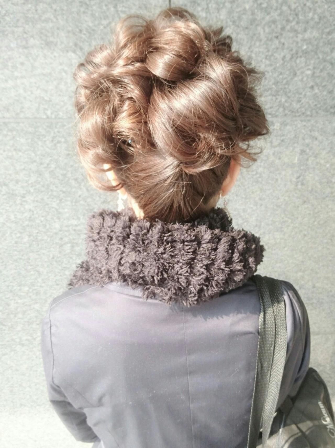 ヘアアレンジ ナチュラル ハーフアップ ゆるふわ ヘアスタイルや髪型の写真・画像 | 島田 和也 / total beauty house flap MICHI