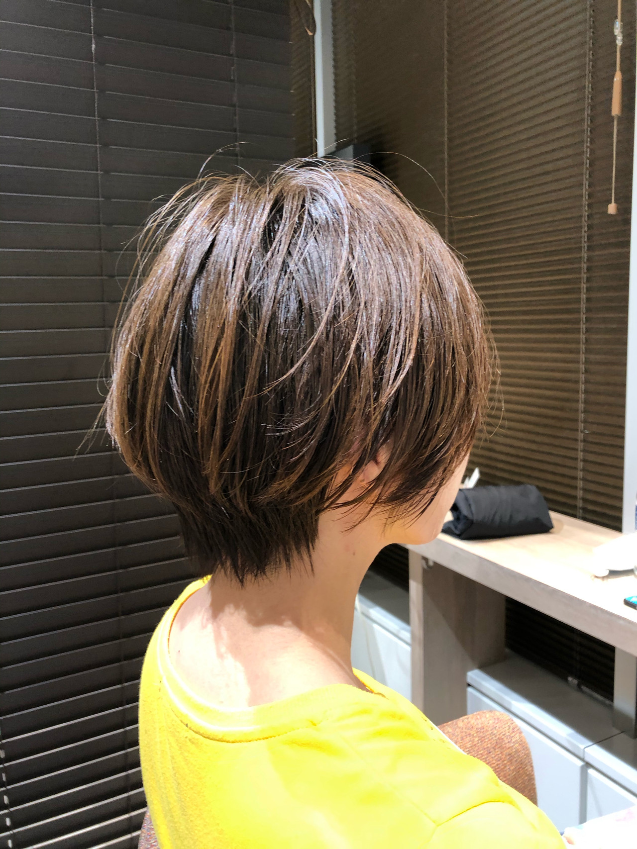 ミニボブ ショートボブ ベリーショート インナーカラー ヘアスタイルや髪型の写真・画像   金田 尚之 / k-two  青山