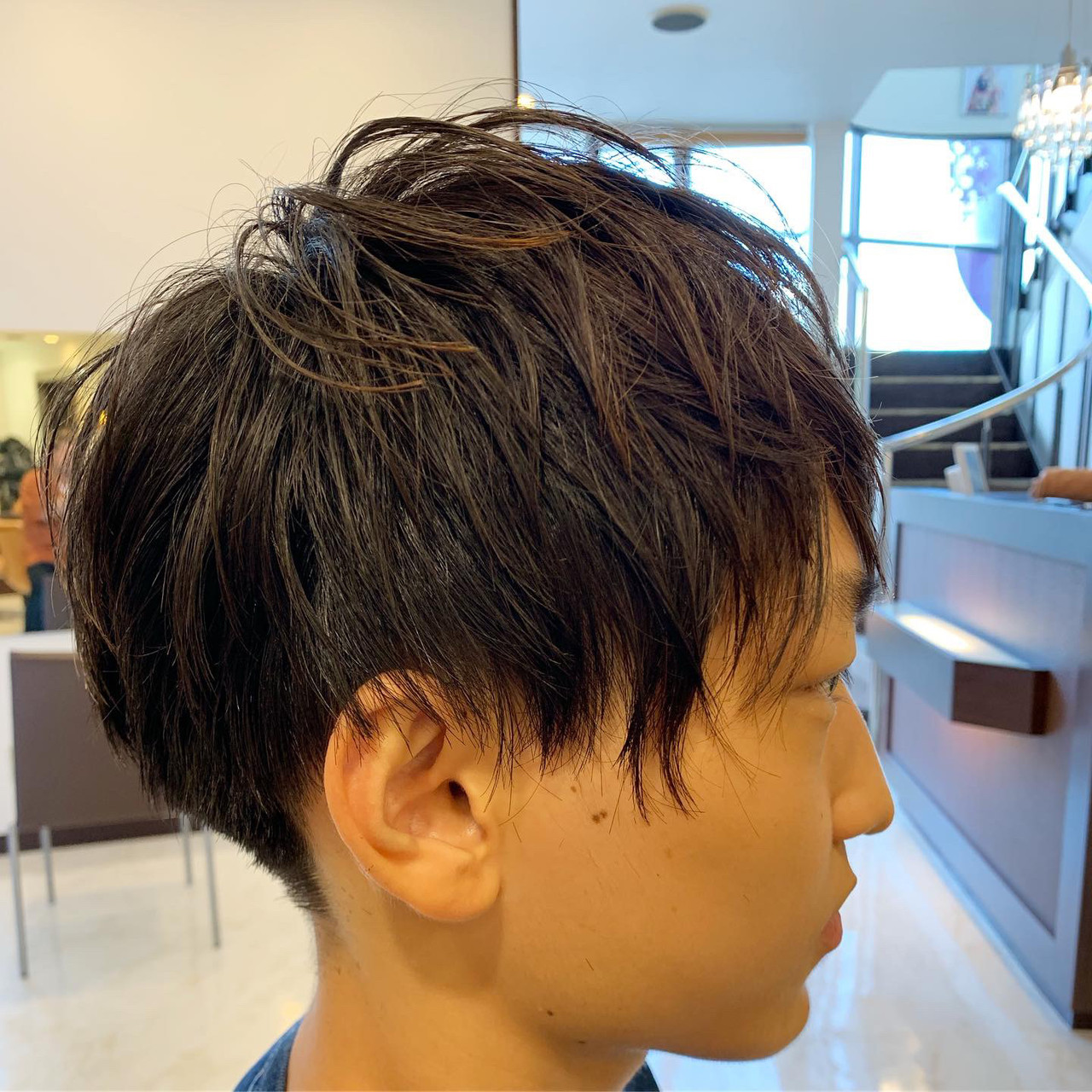 メンズ ショート メンズカット メンズショートヘアスタイルや髪型の写真・画像