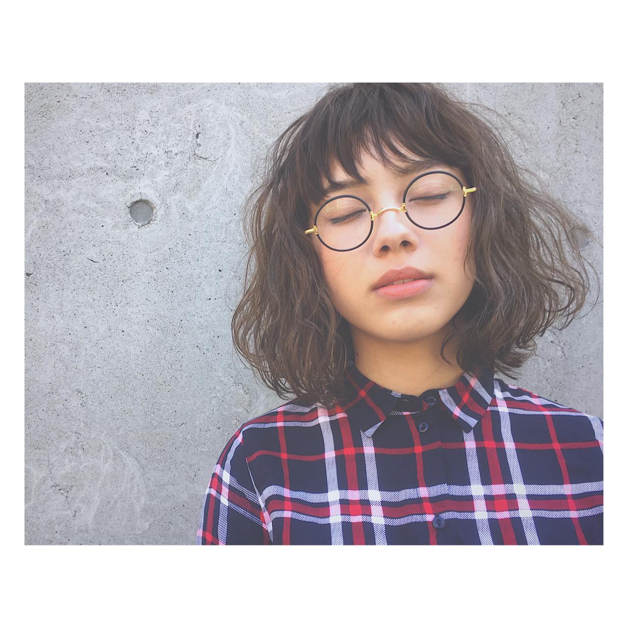 春 パーマ ストリート アッシュ ヘアスタイルや髪型の写真・画像 | 廣田 崇明 / FLOWERS