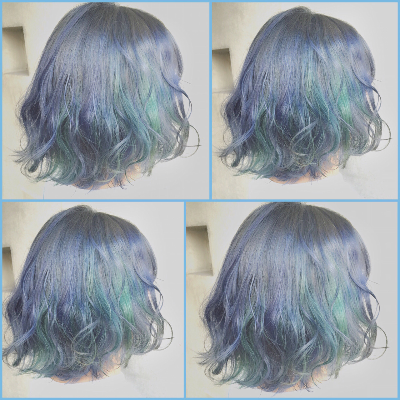 ゆるふわ 暗髪 ボブ ガーリー ヘアスタイルや髪型の写真・画像 | MOTAI / Wille / Wille
