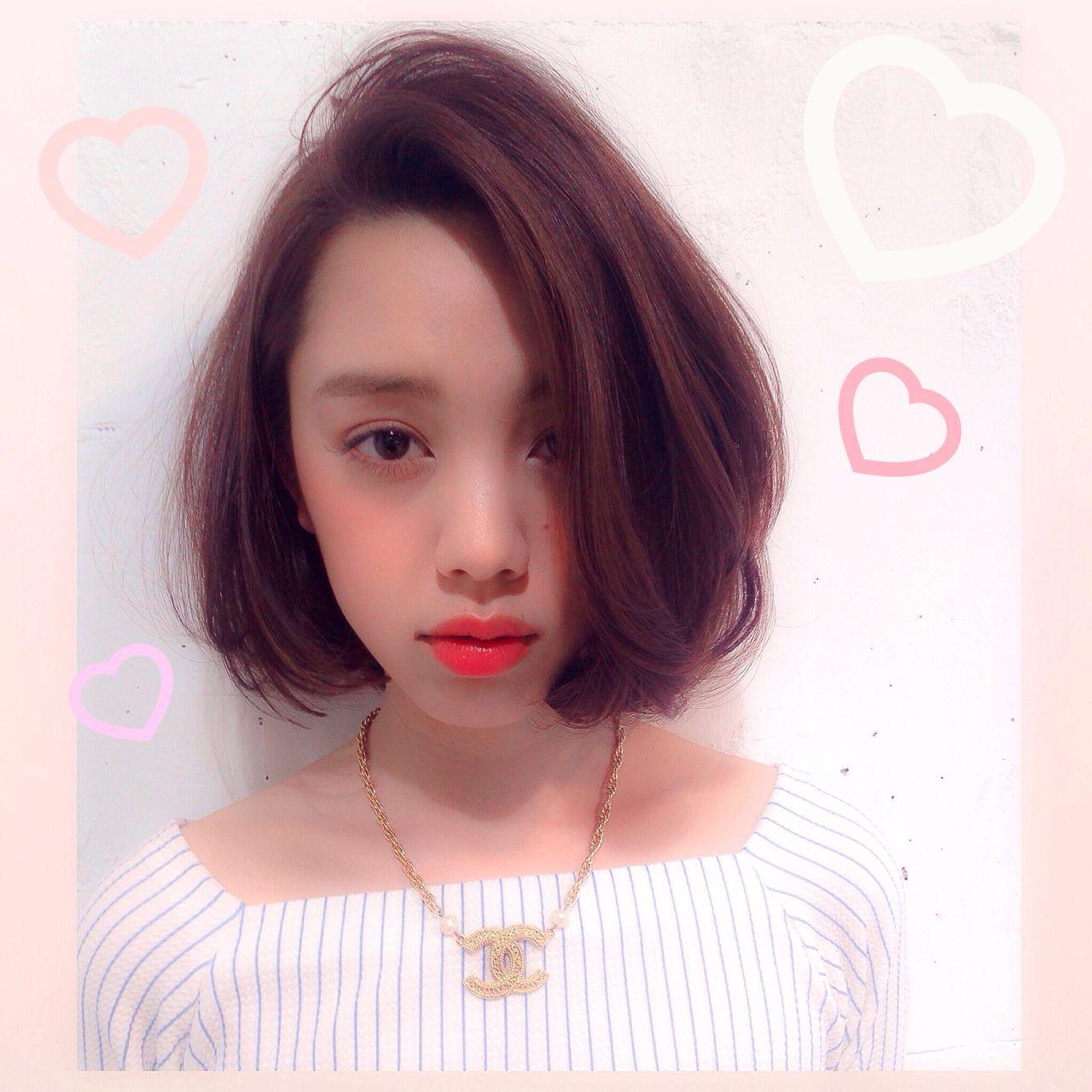 ナチュラル ボブ 秋 ヘアスタイルや髪型の写真・画像 | 【SHIMA】モチナガヤスヒロ / SHIMA daikanyama