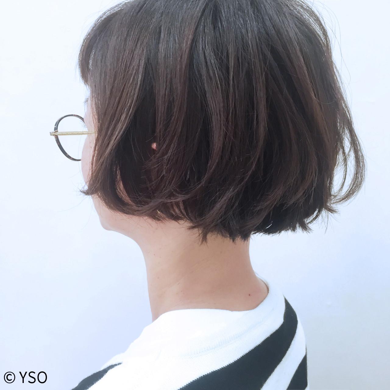 切りっぱなし 外国人風 ストリート 大人かわいい ヘアスタイルや髪型の写真・画像   YSO / 電髪倶楽部street