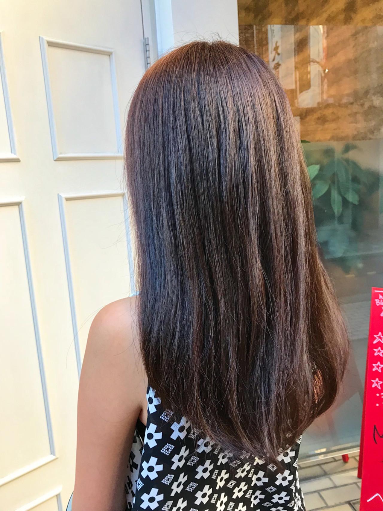 ブリーチ イルミナカラー デート ハイライト ヘアスタイルや髪型の写真・画像 | 古橋 圭史郎 / matrix