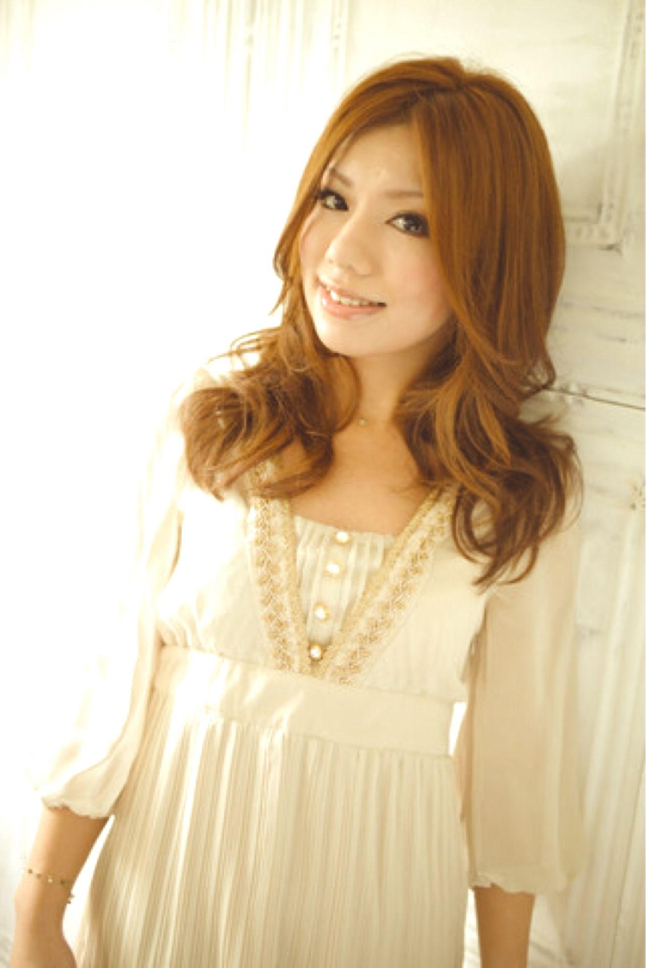 大人かわいい セミロング かっこいい フェミニン ヘアスタイルや髪型の写真・画像 | 笹次 勇多 / uno pulir梅田店