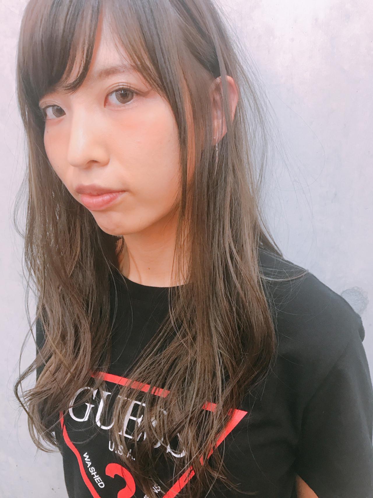 ゆるふわ 透明感 ハイライト 秋 ヘアスタイルや髪型の写真・画像   bond_hiroe / bond