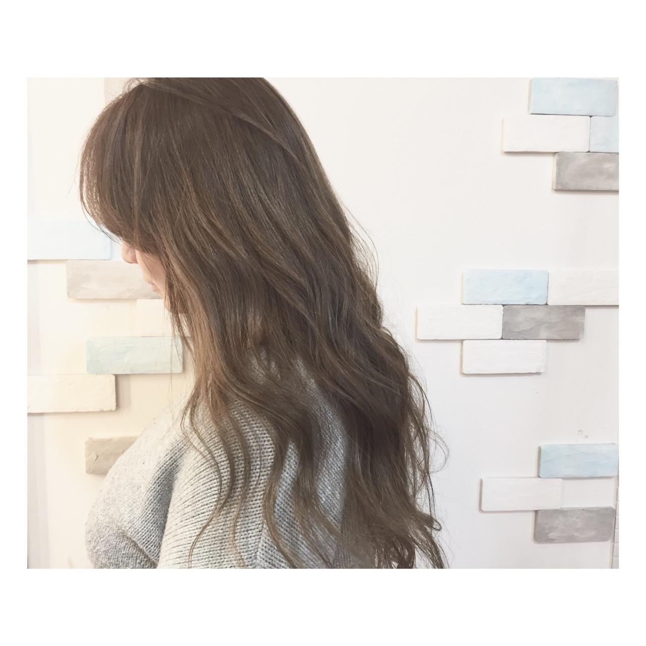 ロング 大人女子 春 ハイライト ヘアスタイルや髪型の写真・画像 | Tadashi Mukouyama / Hair Make Blume COSTA