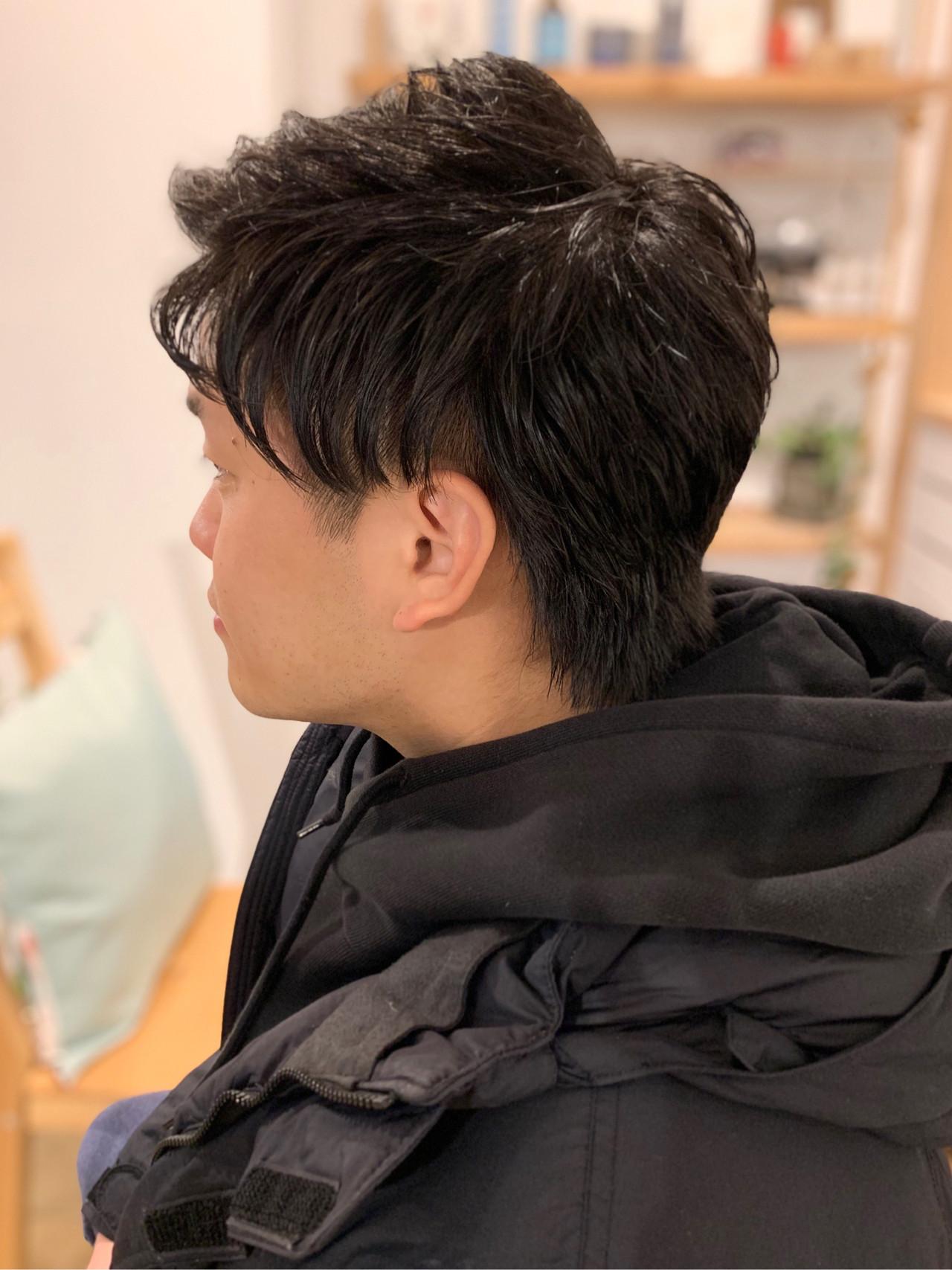 ナチュラル メンズショート メンズスタイル メンズヘアスタイルや髪型の写真・画像