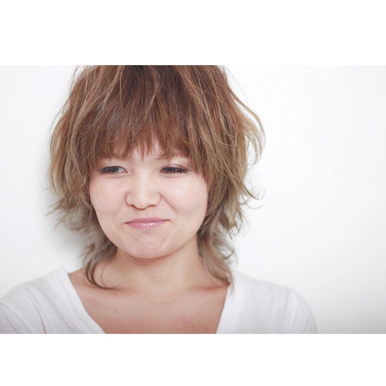 マッシュ ウルフカット ショート 外国人風 ヘアスタイルや髪型の写真・画像   カミムラ ケンスケ / SPEC