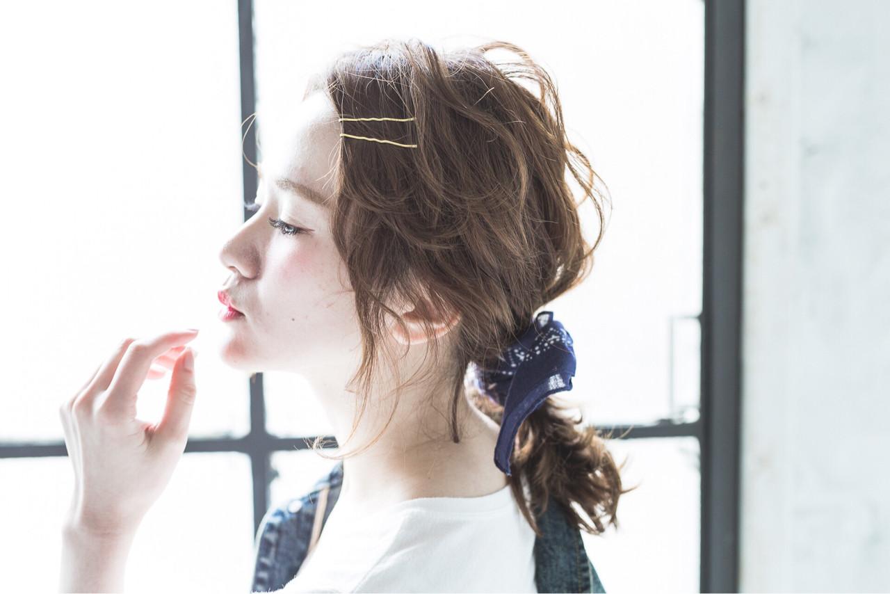 ショート ピュア ヘアアレンジ 大人かわいい ヘアスタイルや髪型の写真・画像 | 吉井 京子 / Alice