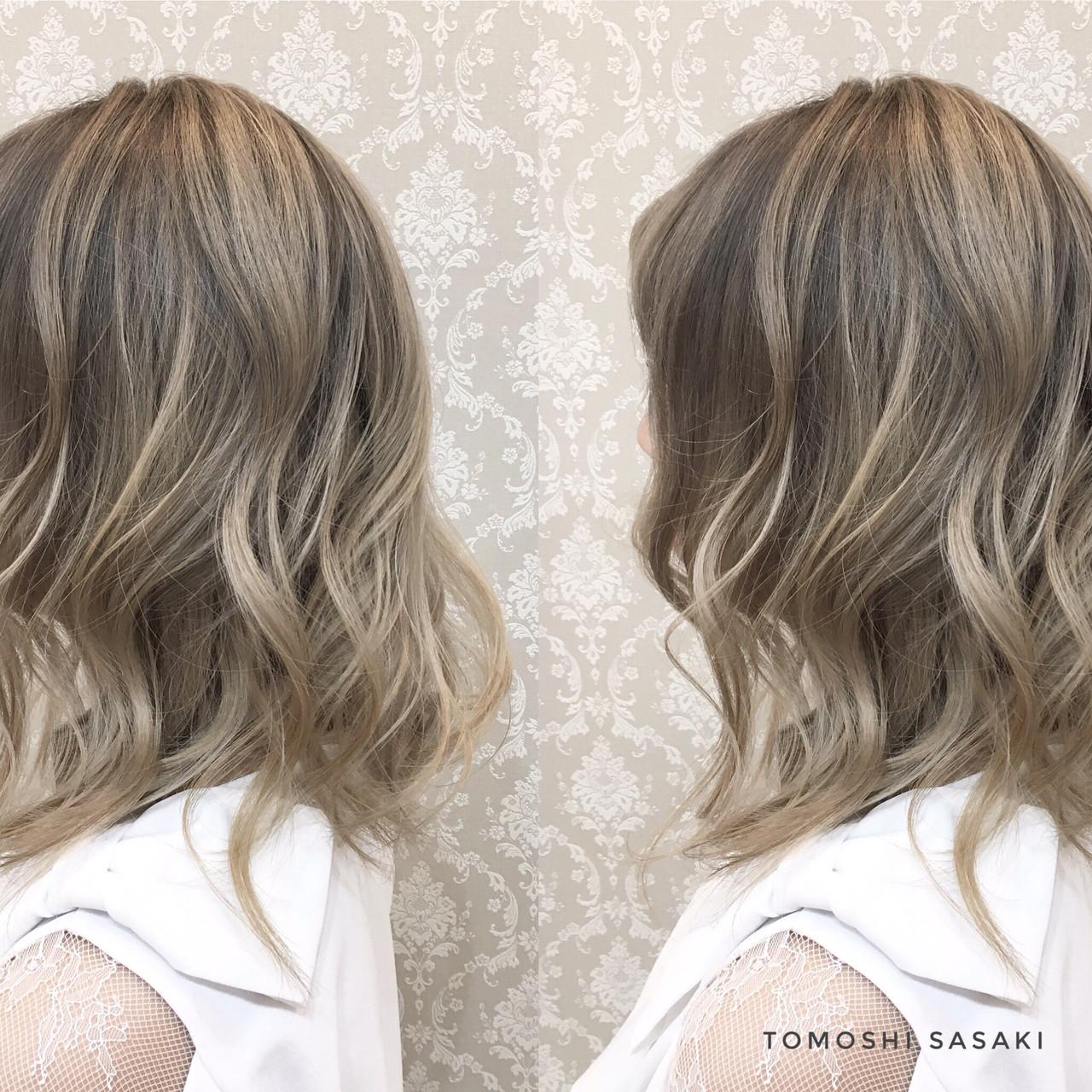 暗髪女子 3Dハイライト グラデーションカラー ガーリー ヘアスタイルや髪型の写真・画像 | ササキ トモシ / Cecil hair 札幌北24条店