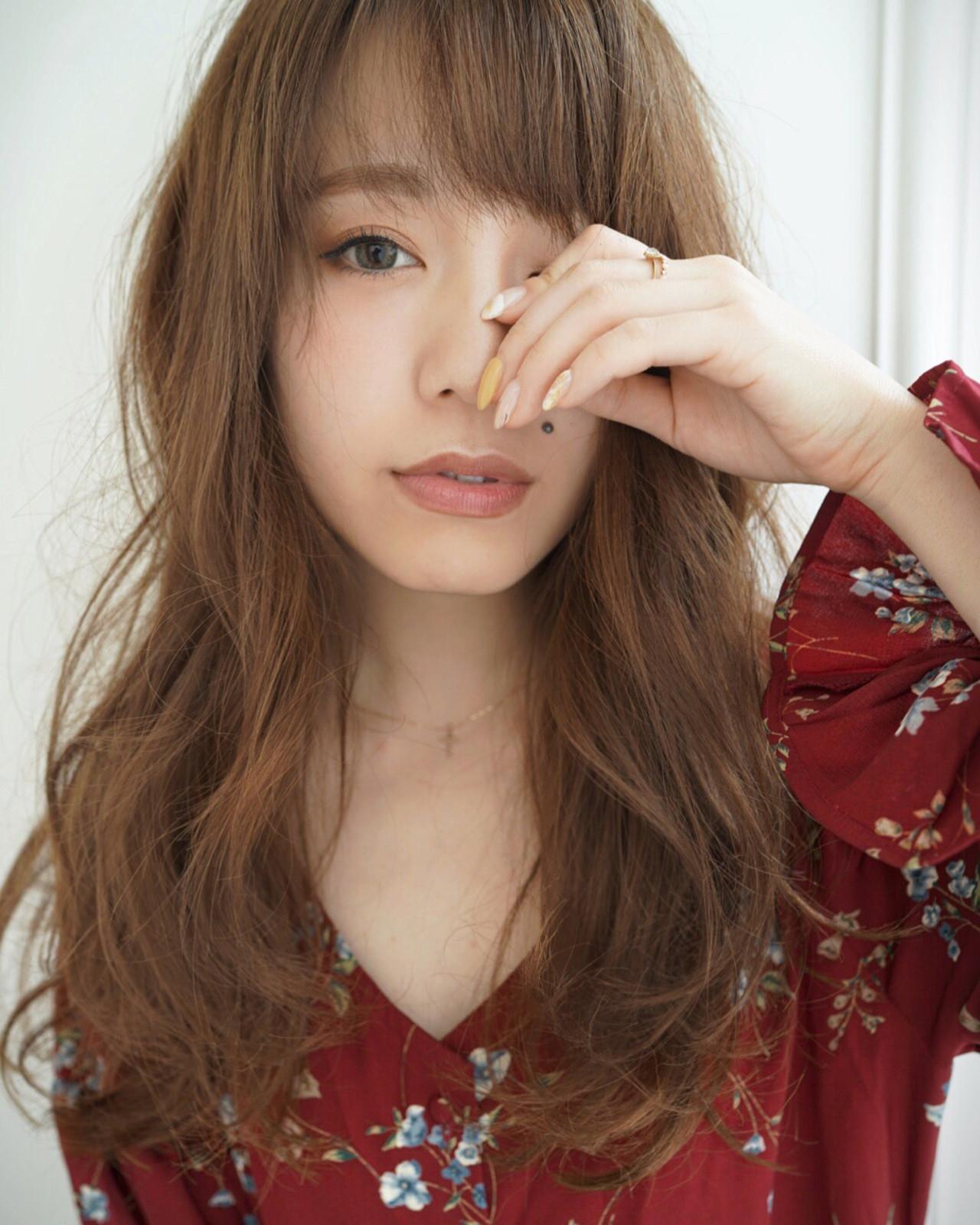 こなれ感 小顔 ゆるふわ ベージュ ヘアスタイルや髪型の写真・画像   Yuuki Kamizuru / iro by siki
