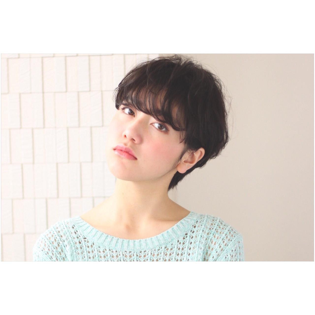 知らなかった?実はオンナ度が高い、魅惑の黒髪ベリーショート♡ 井沢舞花 ZENKO表参道店