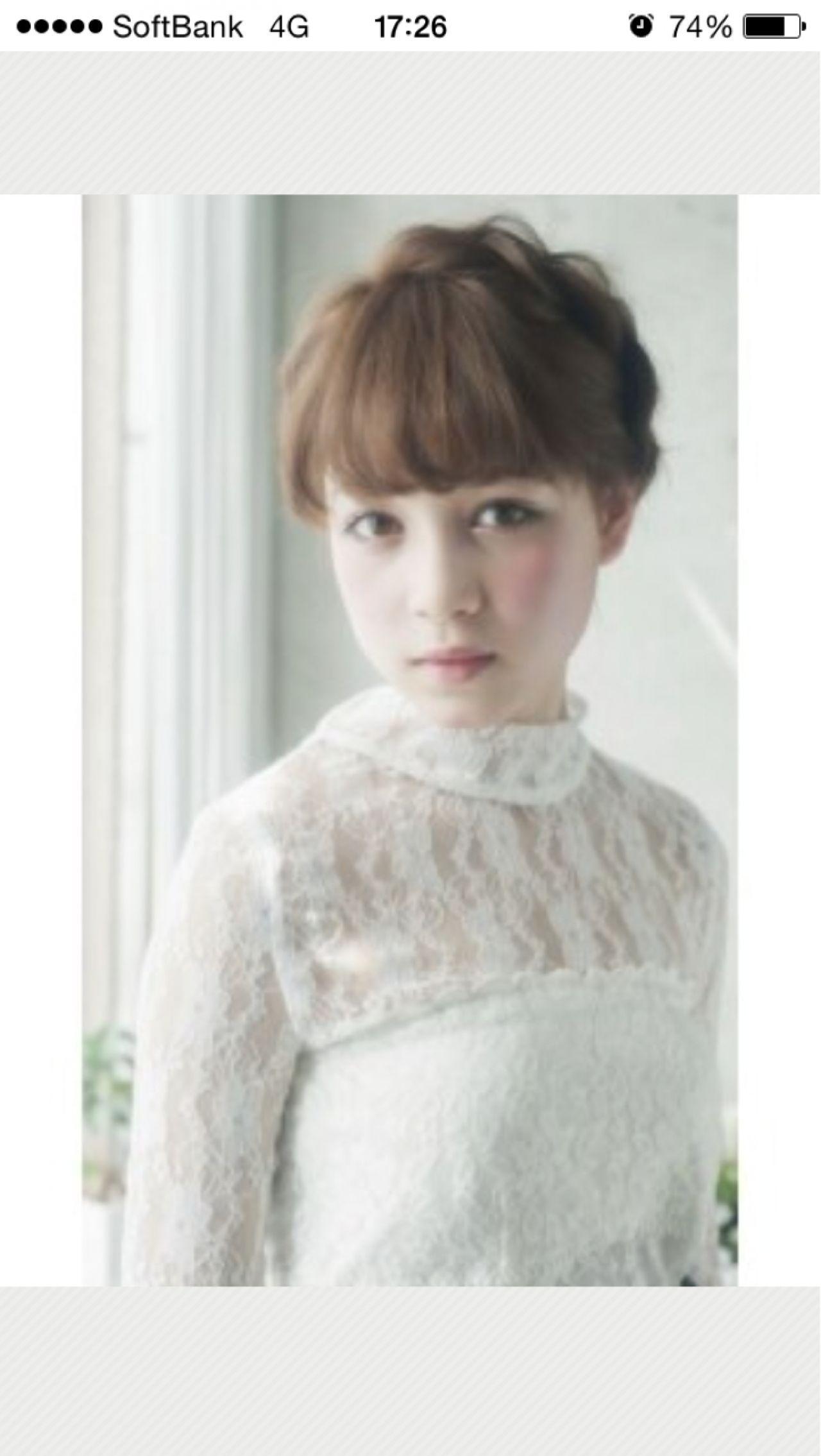 フェミニン ショート モテ髪 簡単ヘアアレンジ ヘアスタイルや髪型の写真・画像 | 小林愛 / hair design collet