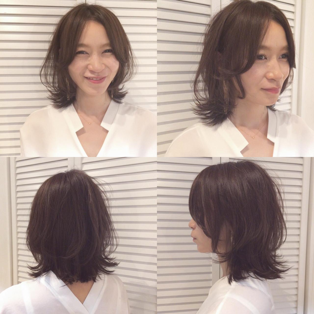 ボブ ウルフカット マッシュ レイヤーカット ヘアスタイルや髪型の写真・画像 | YUKINA / HOMIE TOKYO / HOMIE TOKYO