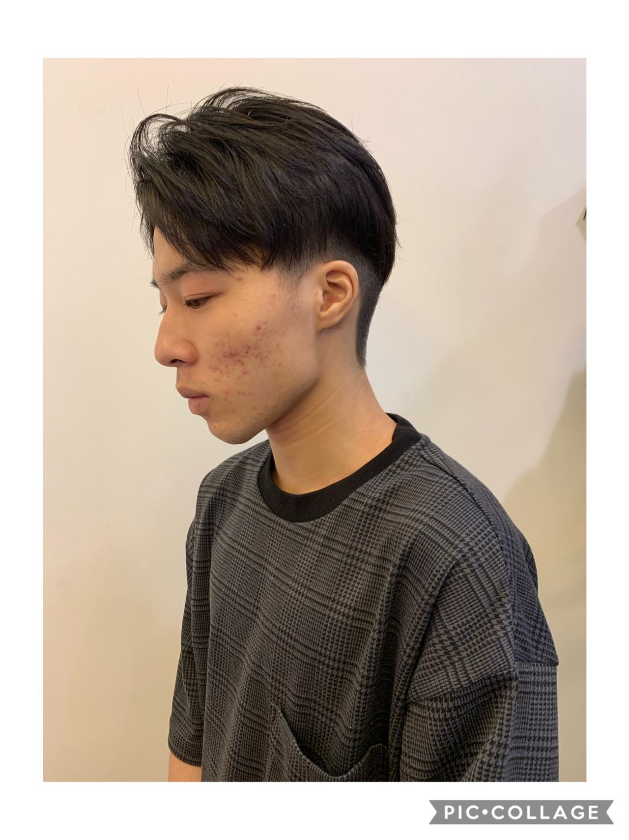 メンズショート ショート ストリート メンズカット ヘアスタイルや髪型の写真・画像   飯島 直彬 / SEES HAIR