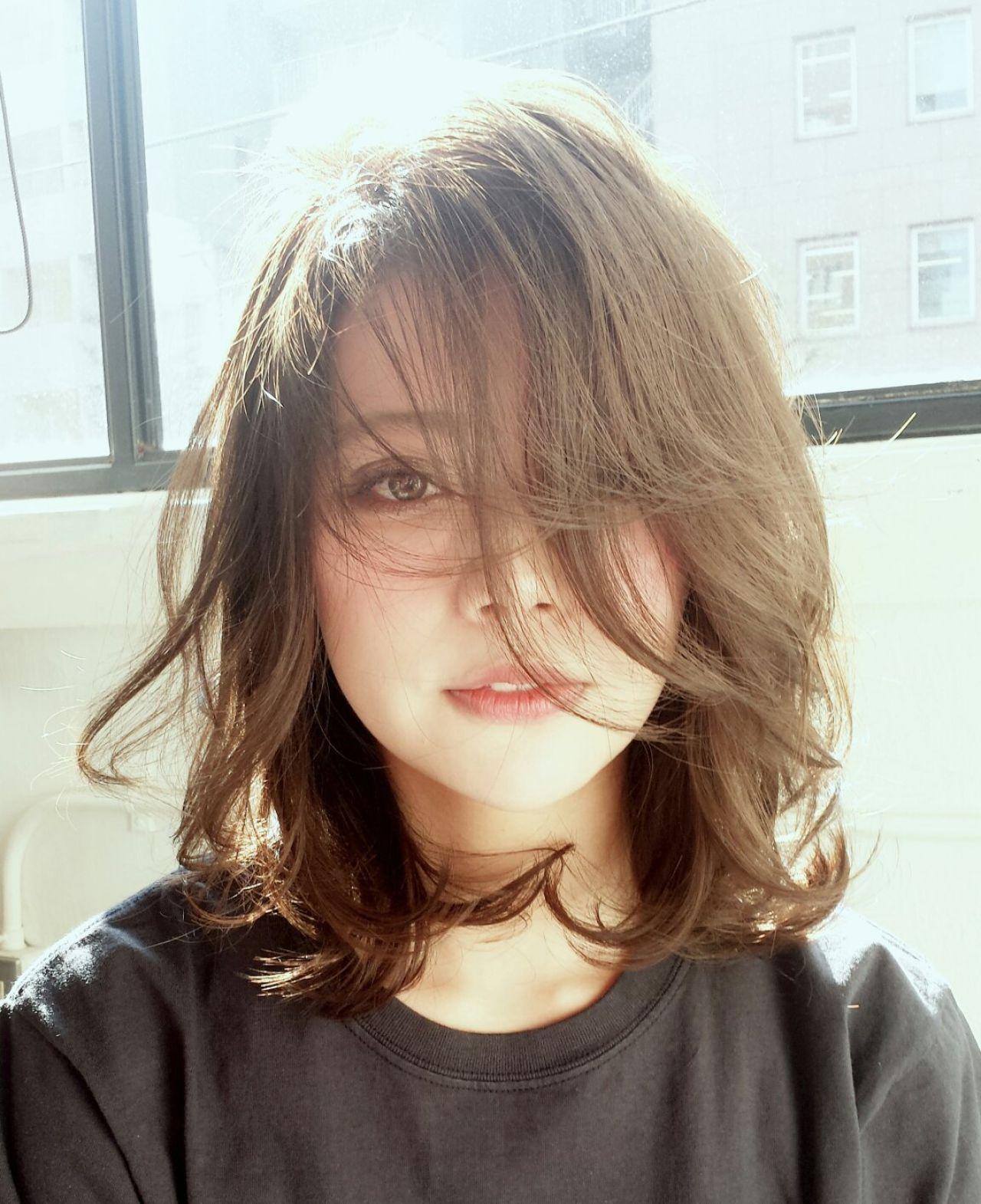 今キテる!誰でもかき上げバングでいいオンナ風♡ Noriyuki Ono