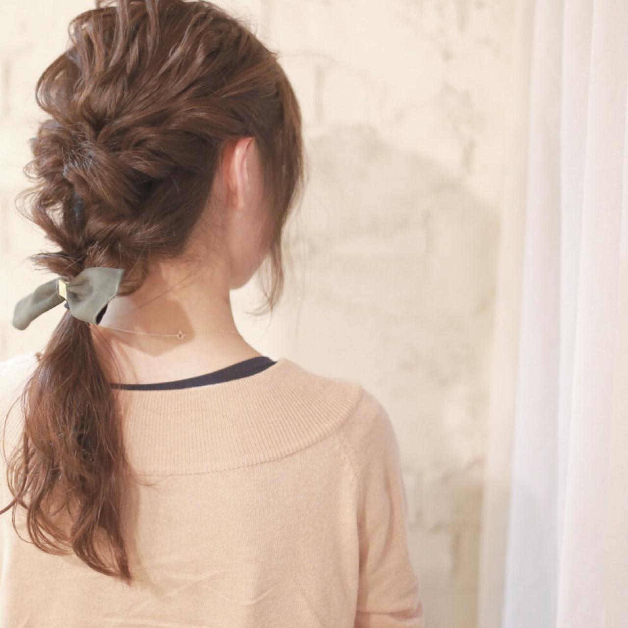 ゆるふわ ショート 大人かわいい ヘアアレンジ ヘアスタイルや髪型の写真・画像   廣田哲也 / nalu hair
