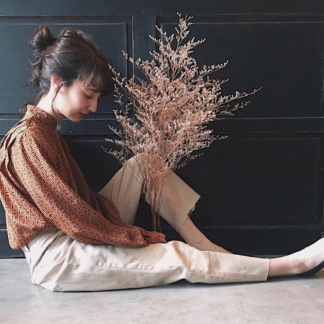 ウェーブ ナチュラル ゆるふわ ミディアム ヘアスタイルや髪型の写真・画像 | 冨永 真太郎 / 人トナリ